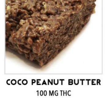 Coco Peanut Butter Rice Krispies - Treat - TKO Edibles