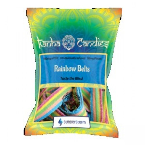 Kanha Candies - 400mg Rainbow Belts  Logo