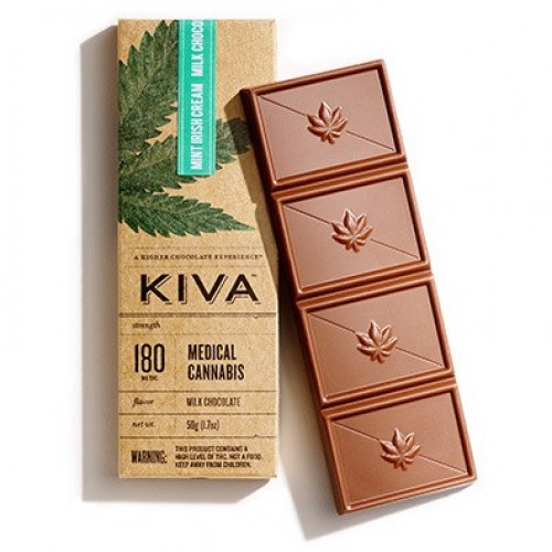 Mint Irish Cream Milk Chocolate (180mg)