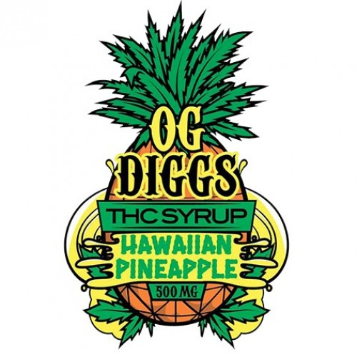 THC Syrup - Hawaiian Pineapple (500mg) Logo