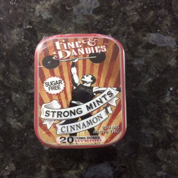 Strong Mints - Cinnamon - Mint - Fine & Dandies