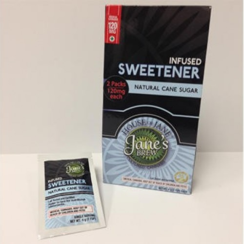Infused Sugar - Indica (2x Single Serve/Dose) - 20mg