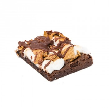 Smore Brownie 100mg - Baked Good - Zilla's Performance Edibles