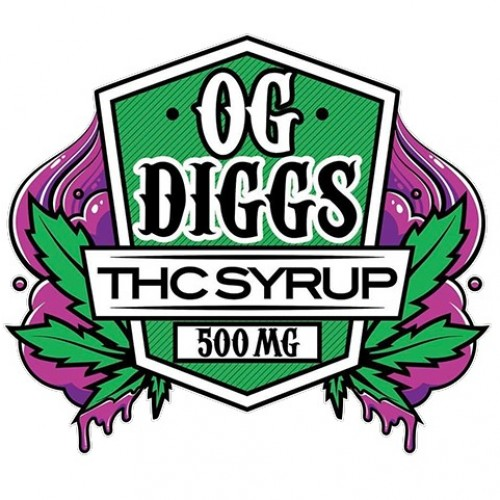 THC Syrup - Fruit Punch (500mg) Logo