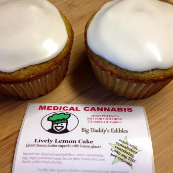 Lively Lemon Cake - Baked Good - Big Daddy's Edibles