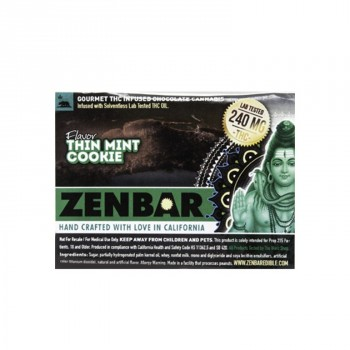 Thin Mint Cookie Bar - Baked Good - ZEN BAR™