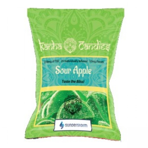 Kanha Candies - 250mg Sour Apple  Logo