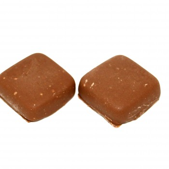 Chocolate Covered Caramels - Treat - The Nutty Baker
