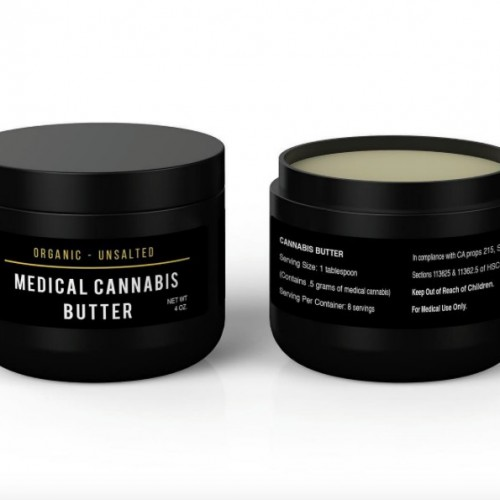 Medical Cannabis Butter - 4 oz Logo
