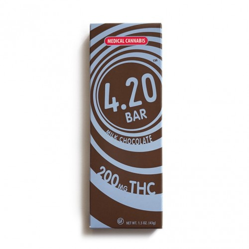 Milk Chocolate 4.20Bar - 200mg Logo