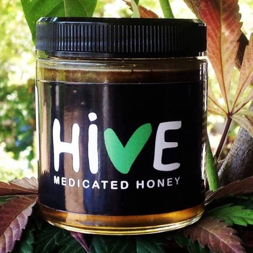 CBD Hive Honey Logo