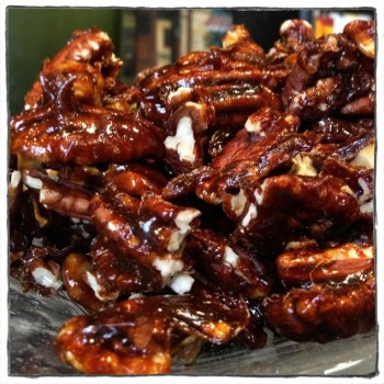 Glazed Pecans - Treat - Auntie Dolores