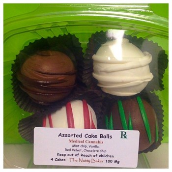 Assorted Cake Balls - Baked Good - The Nutty Baker