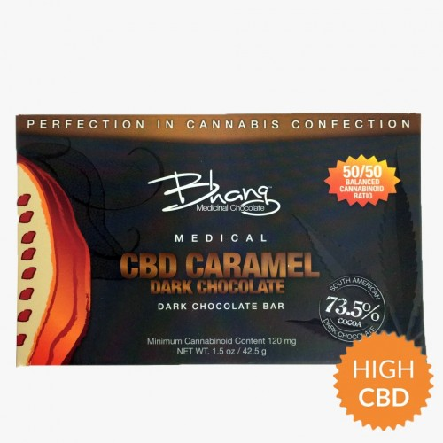 Chocolate Caramel CBD Bar