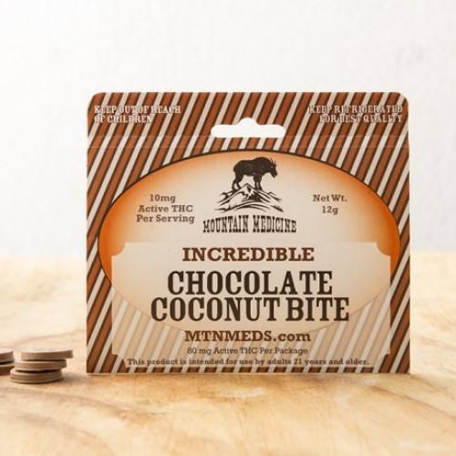 Incredible Chocolate Coconut Bite Logo