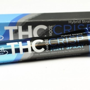 Crisp Mint Spray (THC) - Breath Spray - Bhang