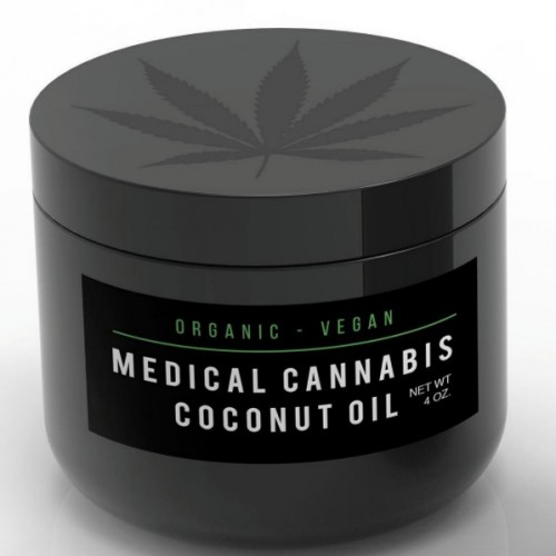 Medical Cannabis Coconut Oil - 2 oz Logo