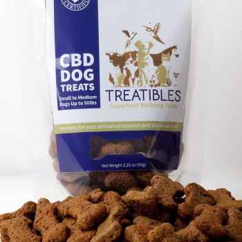CBD Dog Treats - Small Blueberry Treat - Dog Treat - Treatibles