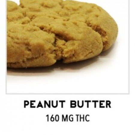Cannabis Edibles Baked Good TKO Edibles Peanut Butter Cookie