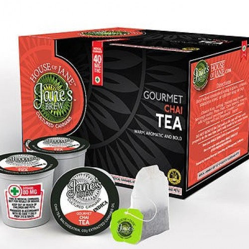 K-Cup - Gourmet Chai Tea - Indica - 20mg