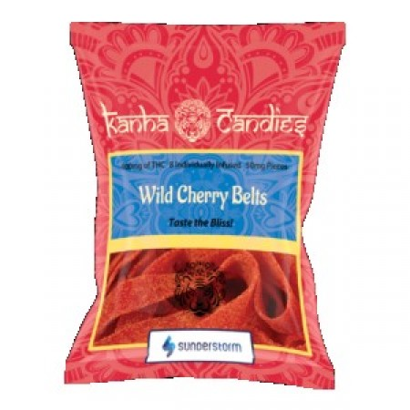 Kanha Candies - 400mg Wild Cherry Belts