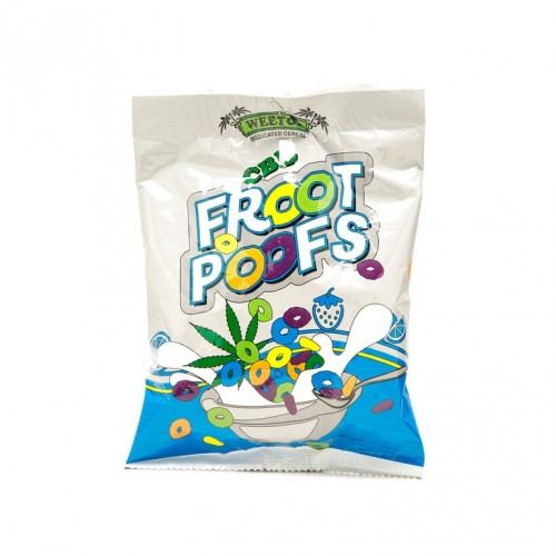 Froot Poofs CBD, 100mg Logo