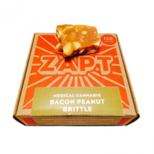 Bacon Peanut Brittle 120mg Logo