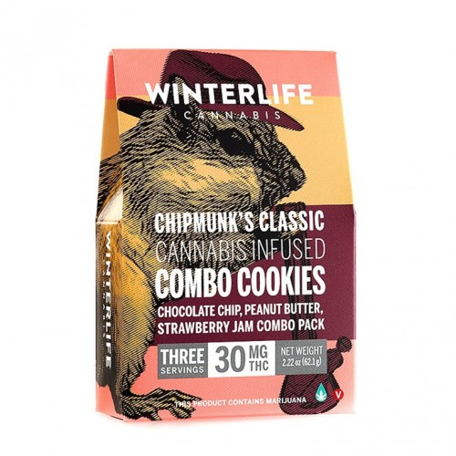 Chipmunk's Combo Cookies 30 mg Logo