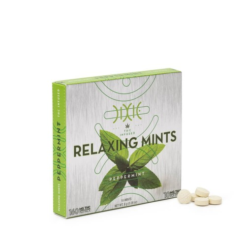 Peppermint Relaxing Mints - 16x10mg Logo