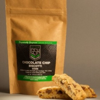 Chocolate Chip Biscotti - Baked Good - Green Soldiers Healers