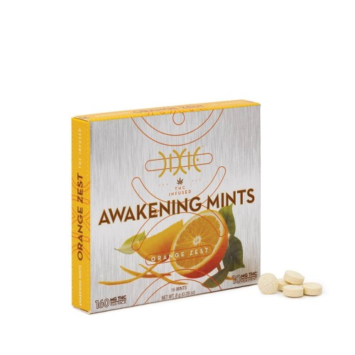 Orange Awakening Mints - 16x10mg Logo