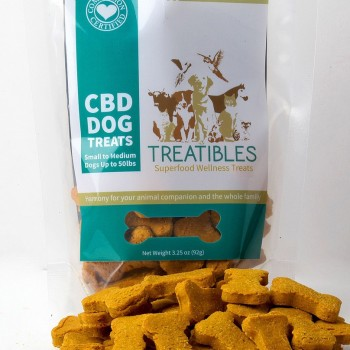 CBD Dog Treats - Small Pumpkin Treats - Dog Treat - Treatibles