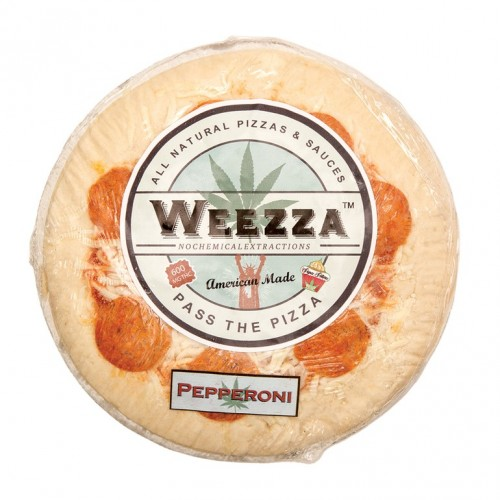 Cheese and Pepperoni Pizza, 600mg Logo