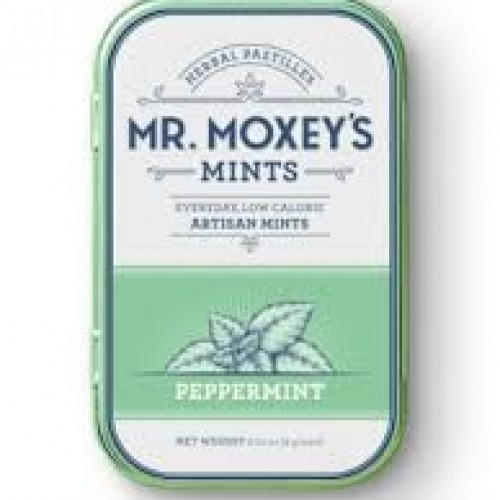Moxey's Mints - Peppermint Logo