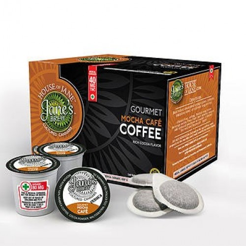 K-Cup - Mocha Cafe' - Indica - 20mg