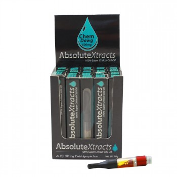 Chem Dawg (Chemdog) Vaporizer Cartridge - AbsoluteXtracts