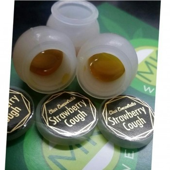 Strawberry Cough Oil - The Clear Concentrate