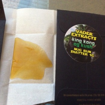 King Kong Shatter - Vader Extracts