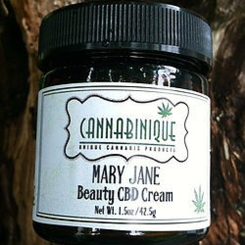 Mary Jane CBD Beauty Cream Logo