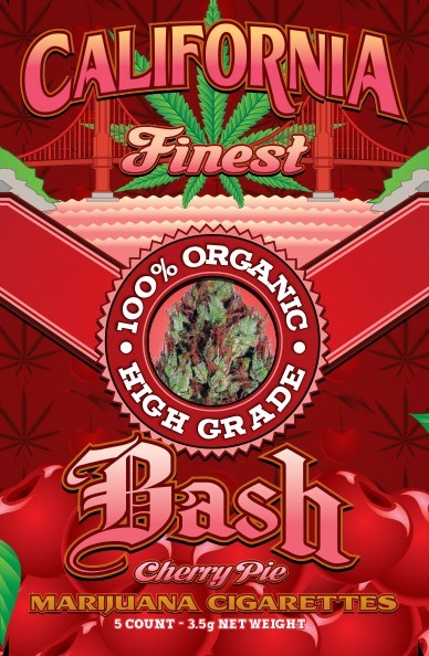 Bash Cherry Pie Pre Roll California Finest