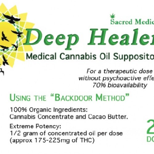 Deep Healers Suppositories (20 Doses) Logo