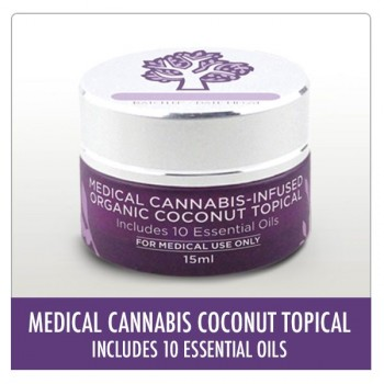 Medical Cannabis-Infused Organic Coconut Topical  - Topical - Aunt Zelda's