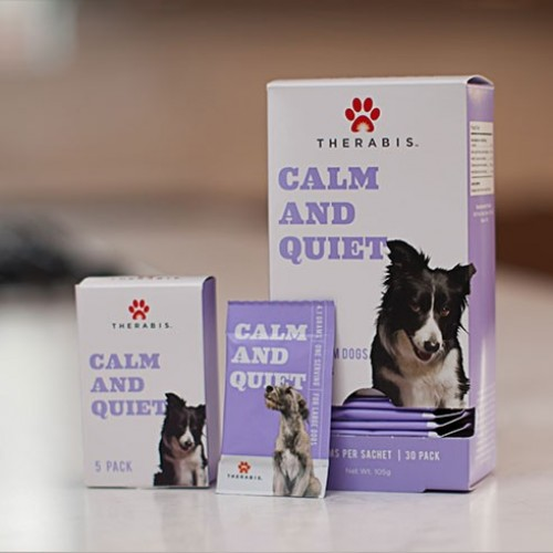 Calm And Quiet - Medium Dogs (30 Pack) Logo
