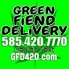 Green Fiend Delivery Logo