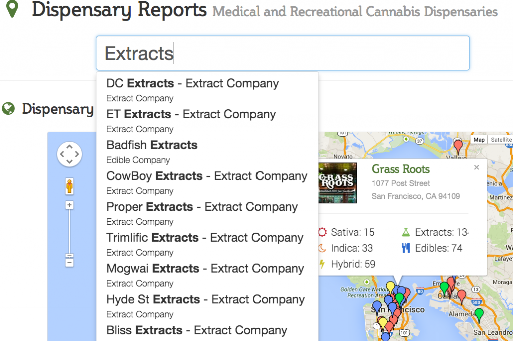 Find Specific Cannabis Extracts in the San Francisco Bay Area