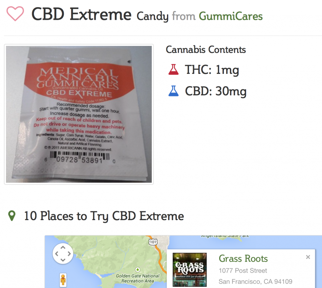 CBD Extreme from GummiCares at Smoke Reports