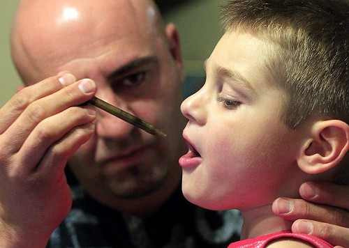 Jayden David's Father Jason has Spent Five Years Fighting for Cannabis.