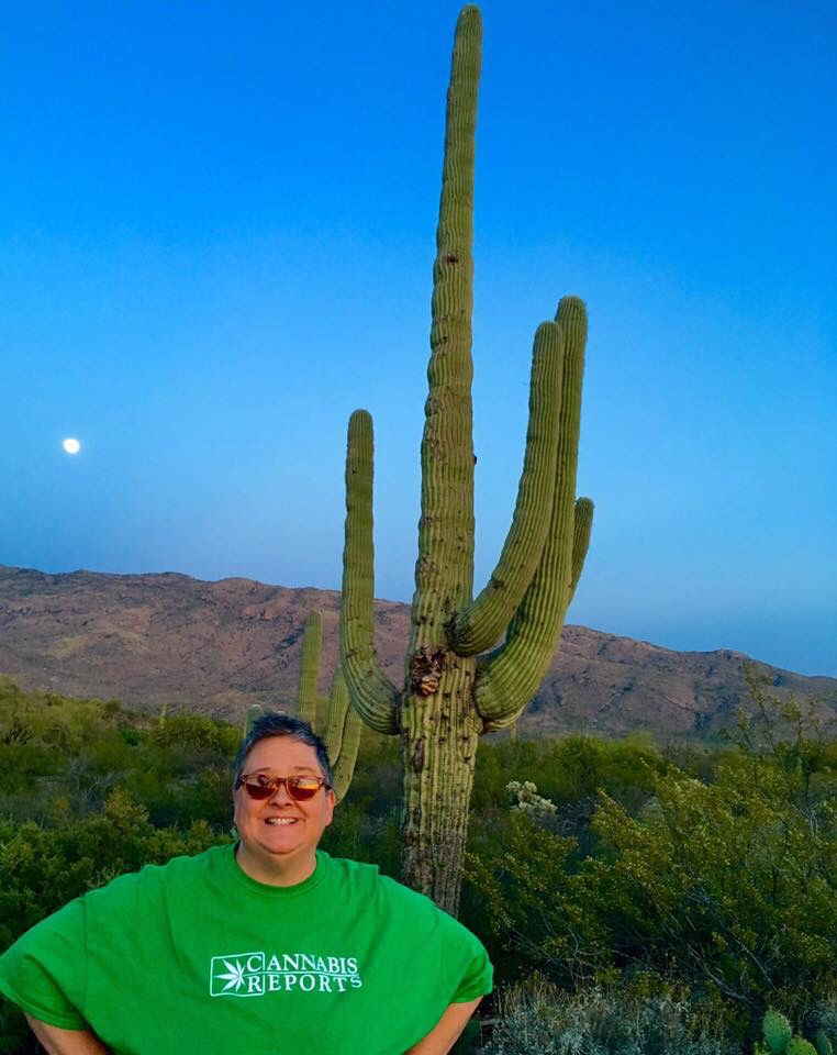 Social Media and PR Director Lu, Beaming In from Tucson