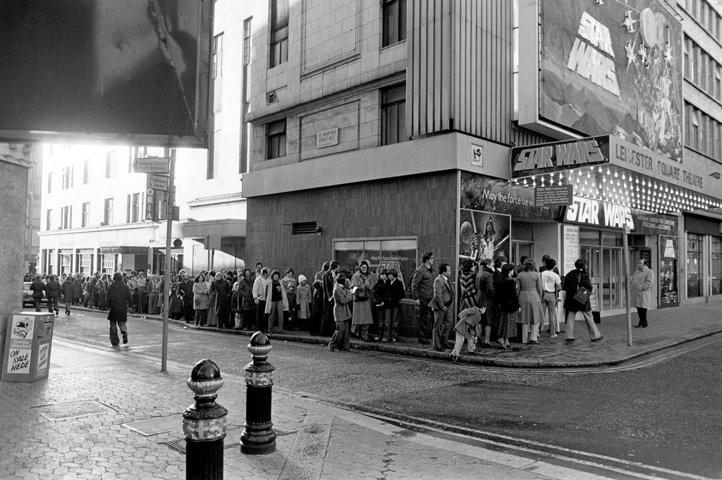 The Lines for the Star Wars Premier were Famously Long (and Cannabis Use was Rampant Among the Waiting Moviegoers)